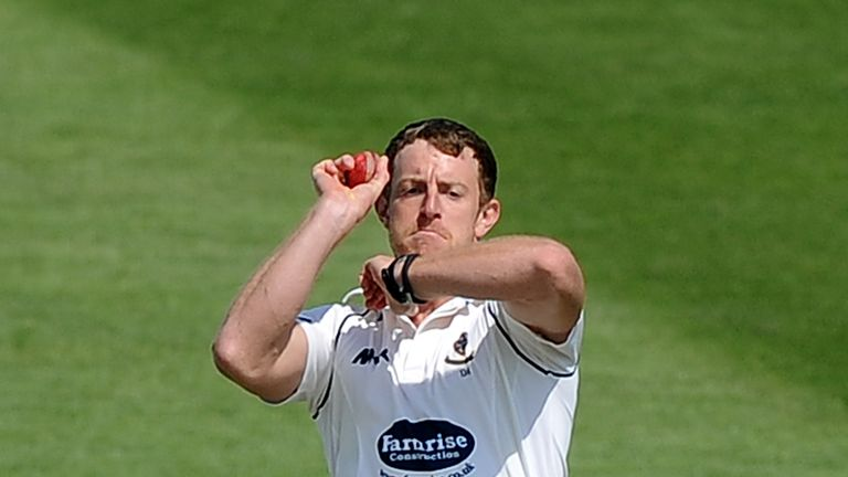 James Anyon: Sussex seamer claimed 5-44 in 10.2 overs