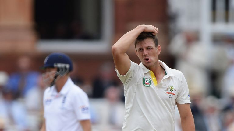 James Pattinson: Suffered stress fracture in lower back
