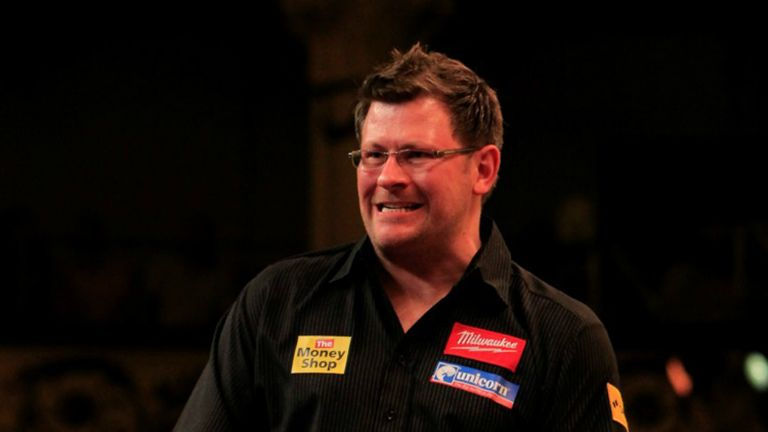 James Wade: First round winner in Blackpool