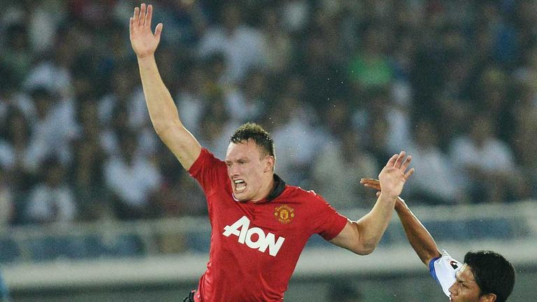 Phil Jones: Central role appeals to Manchester United star