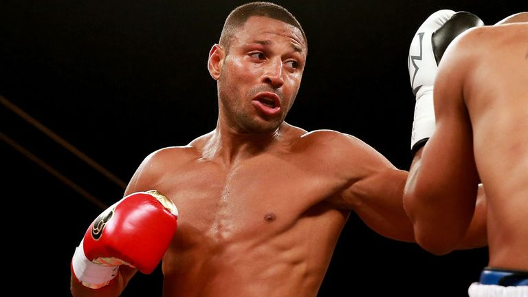 Kell Brook: Faces the biggest test of his career against Vyashaslev Senchenko