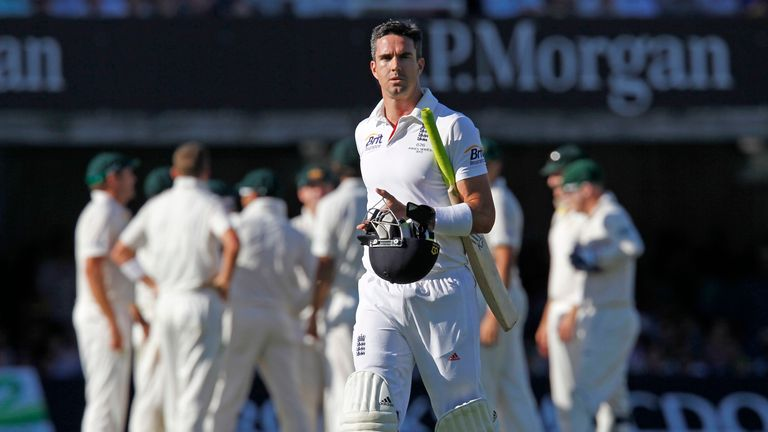 Kevin Pietersen: Struggling with a calf injury