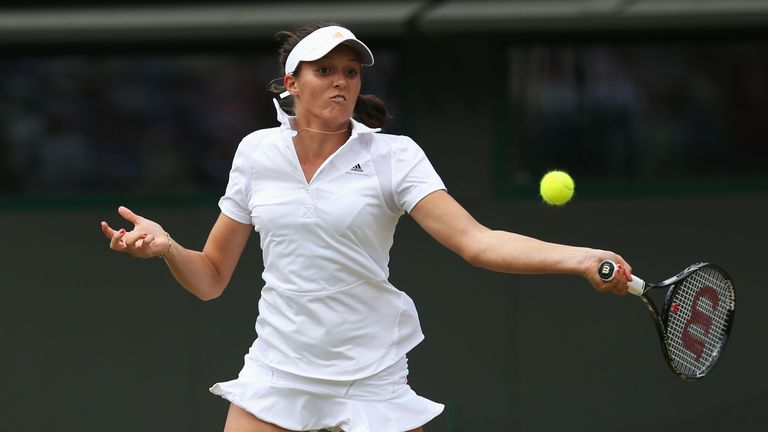 Laura Robson: Admitted that she missed her chances against Kaia Kanepi