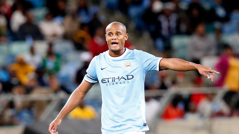 Vincent Kompany: Captain says Manchester City are looking sharp