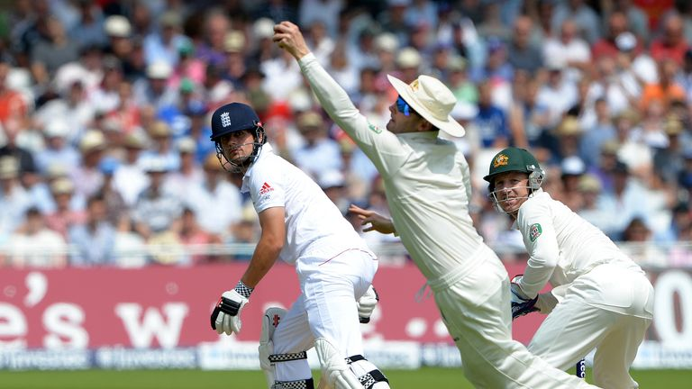 Michael Clarke: Took a nice catch to dismiss opposing skipper Alastair Cook