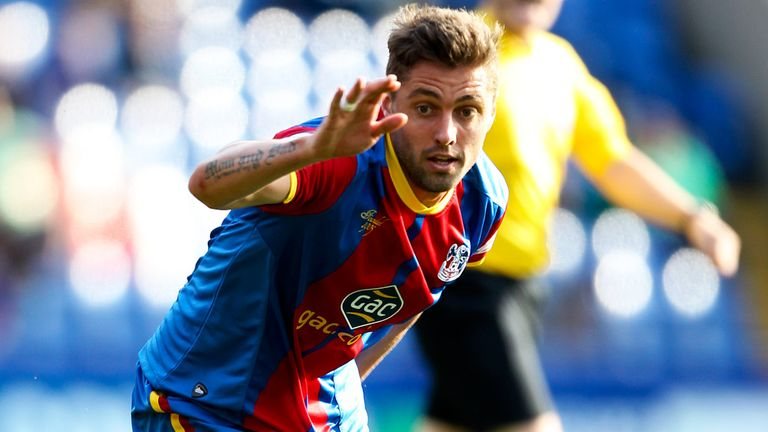 Andre Moritz: A free agent after turning down new deal at Crystal Palace