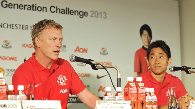 David Moyes: Looking forward to working with Shinji Kagawa at Manchester United