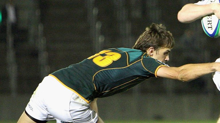 Stokkies Hanekom: Ran in two tries for the Golden Lions