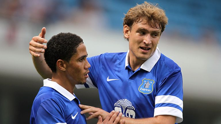 Nikica Jelavic: Linked with a move to Germany