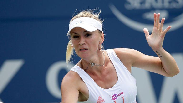Olga Govortsova wins in Stanford