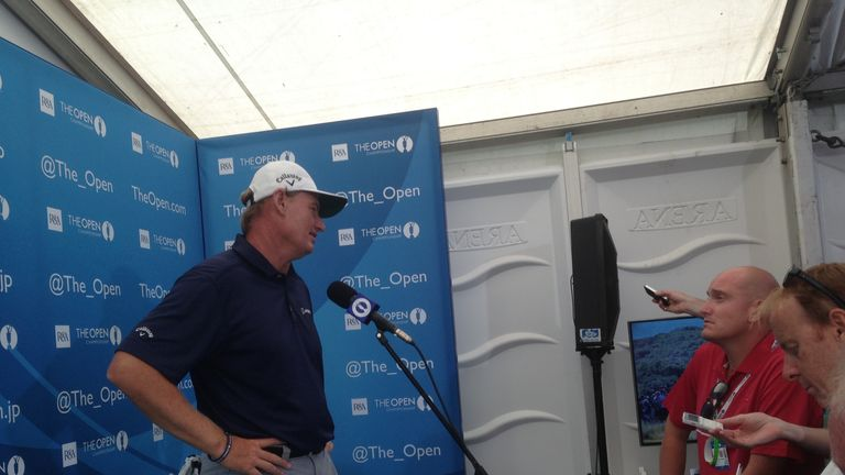 Ernie Els: Good round but not the really low one he wanted