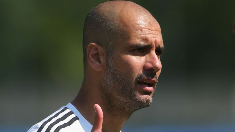 Pep Guardiola: Has a wealth of talent at his disposal as Bayern coach