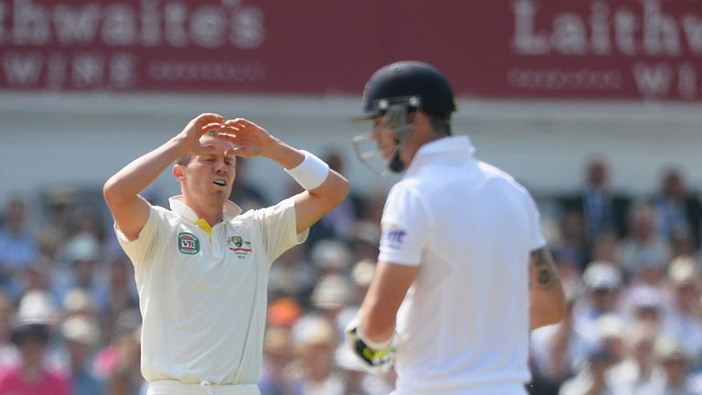 Peter Siddle: Australia paceman plays down Stuart Broad controversy