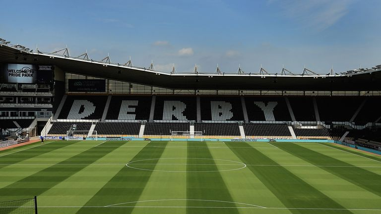 iPro Stadium: Mel Morris back at Derby
