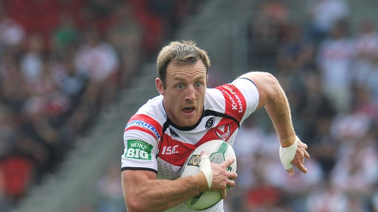 James Roby: The early favourite for the 2014 Man of Steel award