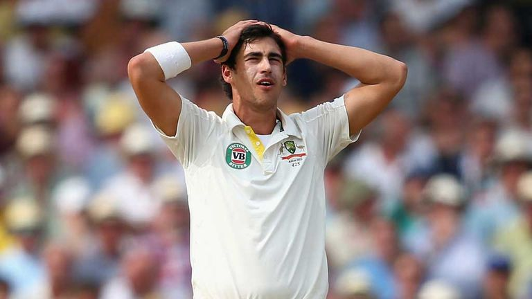 Mitchell Starc: Tough day at the office for Australia