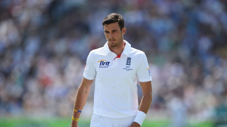 Steven Finn: Lost his place after the first Ashes Test this summer