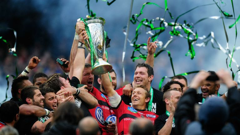 Toulon: Celebrate winning last season's Heineken Cup