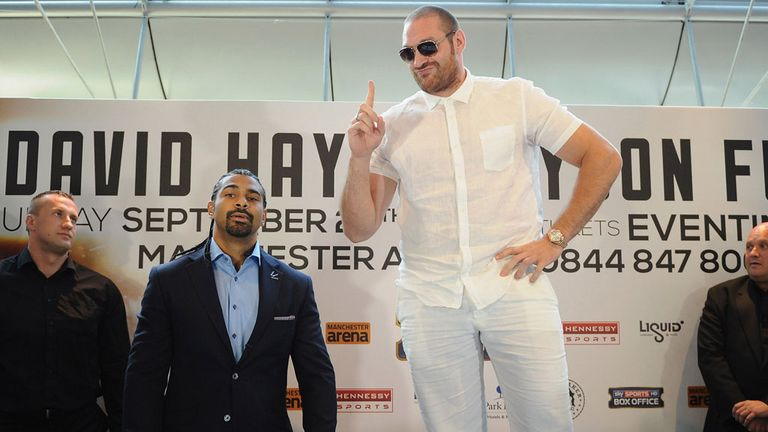 Few would dispute this is the biggest heavyweight fight on British soil in 20 years
