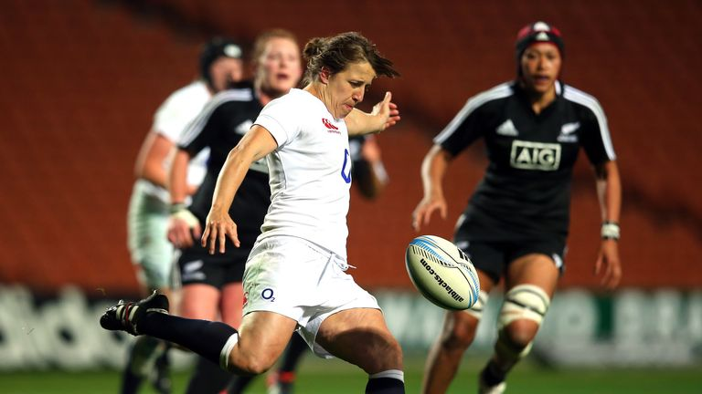 Katy McLean: Named as England captain