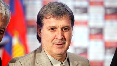 Gerardo Martino: Appointed as new Barcelona coach last week