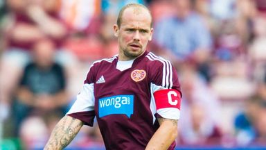 Jamie Hamill: Hearts defender is backing the team to defy the odds and beat the drop