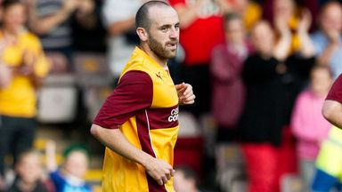 James McFadden: Motherwell striker to leave Fir Park this summer