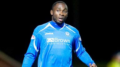 Kudus Oyenuga: Former St Johnstone loan striker has impressed during his trial at Dundee United