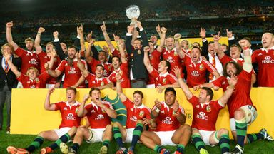 British & Irish Lions: Sky Sports will have exclusive live coverage of the 2017 tour to New Zealand