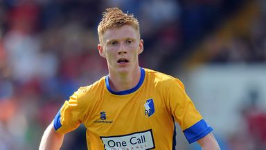 Sam Clucas: Mansfield winger was a target for Chesterfield