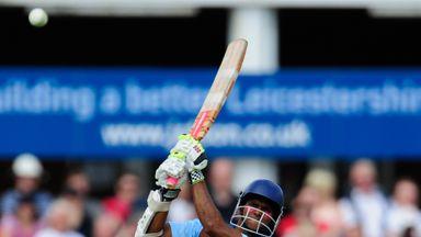 Shivnarine Chanderpaul: Derbyshire batsman oversaw successful run chase