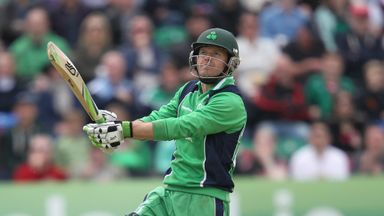 Ed Joyce: Rested from Ireland