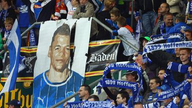 Boris Vukcevic: Hoffenheim supporters show their support last season