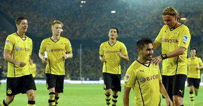 Borussia Dortmund: Won the first title of the season in Germany