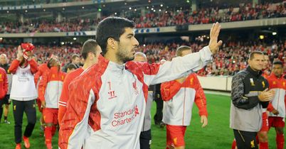 Luis Suarez: Could soon wave goodbye to Liverpool