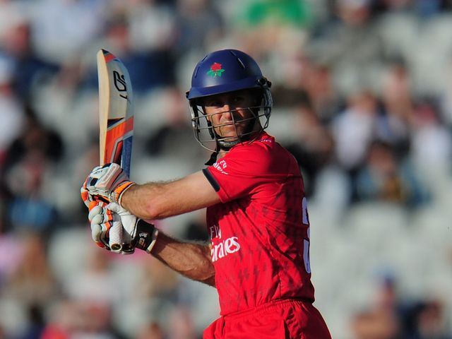 Simon Katich: Top scored with an unbeaten 62