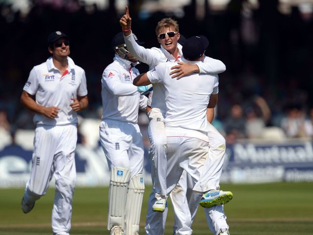 Joe Root: Claimed two wickets before tea