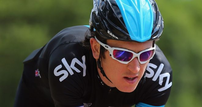 Geraint Thomas believes Team Sky can retain control on descents