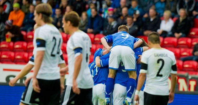Frazer Wright: On target for St Johnstone in victory over Rosenborg