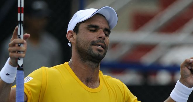 Alejandro Falla: Reached the semi-finals of the Claro Open