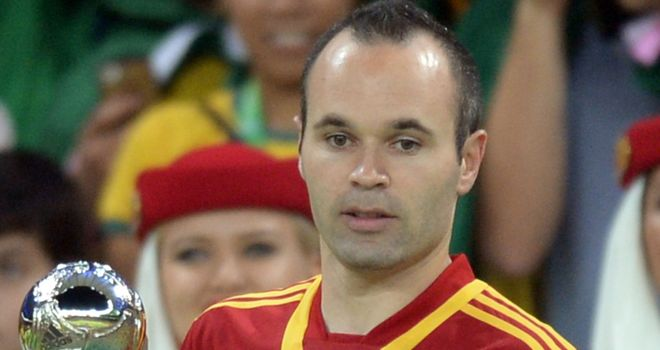 Andres Iniesta: Special match on Tuesday night