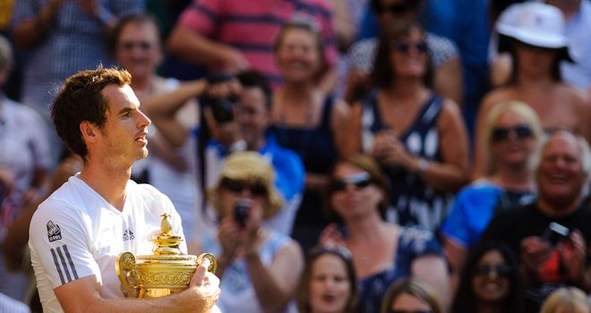 Andy Murray: Has been assured of lofty Wimbledon seeding by tournament bosses