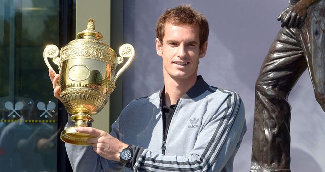 Andy Murray: Says the support he received from the public on Sunday was amazing