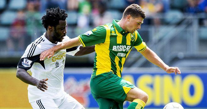 Danny Holla (right): Brighton move