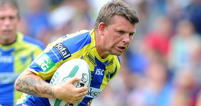 Lee Briers: Warrington playmaker back in Tony Smith's squad for Friday's clash