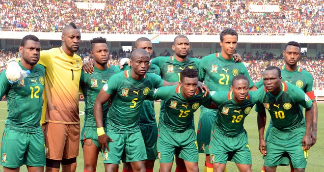 Cameroon: Will feature at World Cup
