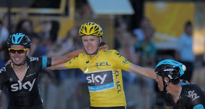 Chris Froome avoided incident to complete Tour de France victory