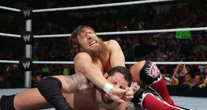 Bryan and Barrett: went toe-to-toe on Smackdown