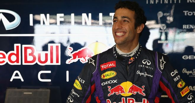 Daniel Ricciardo: Will be in Red Bull Racing colours full-time in 2014