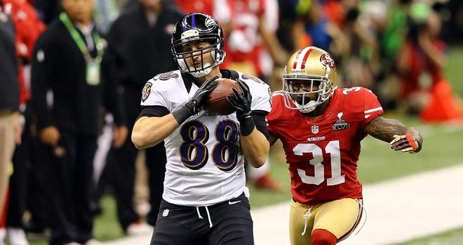 Dennis Pitta: A reliable option for Joe Flacco last season
